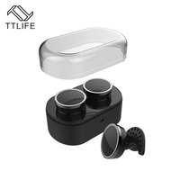 TTLIFE TWS Bluetooth 4 1 Earphone Q800 True Wireless Stereo Airpod Style Headphone With Charge Box