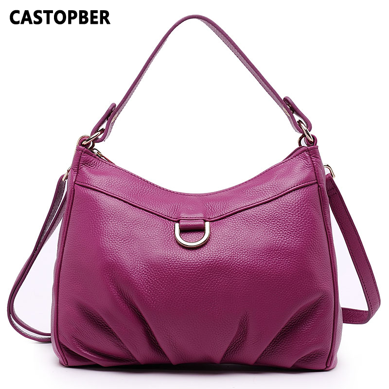 Large Women Bag Hobos Handbag Fashion Women Genuine Leather Handbags Cowhide Ladies Shoulder Tote Crossbody Bags High Quality esufeir brand genuine leather women handbag fashion designer serpentine cowhide shoulder bag women crossbody bag ladies tote bag