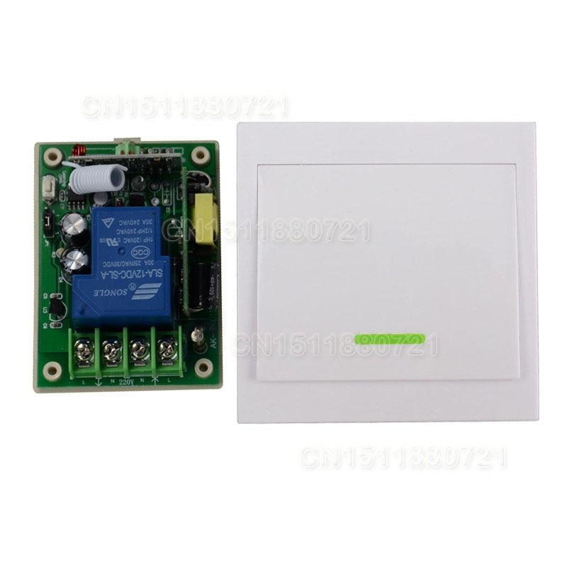 AC85V-250 V 110 V 220 V 3000 W RF Sistema de Interruptor de Control Remoto Inalá