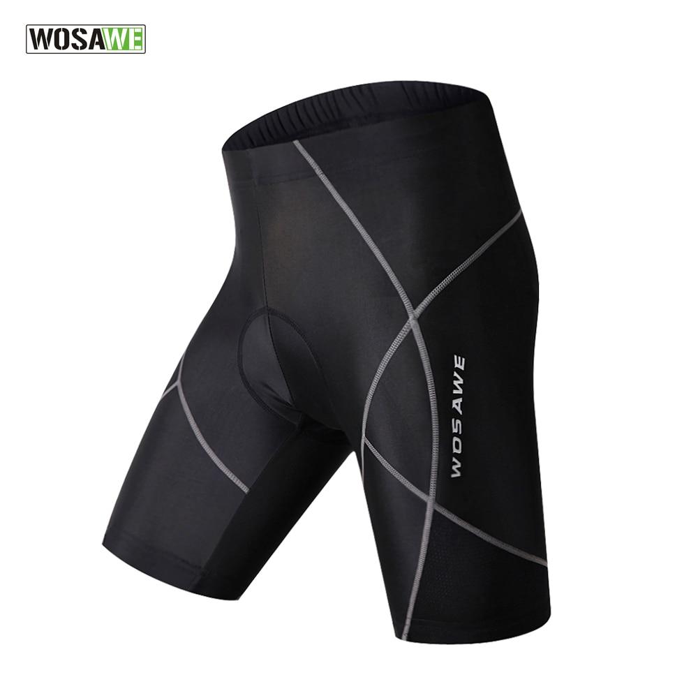 WOSAWE MTB Road Bike Shorts Padded Cycling Shorts Shockproof Bermuda Ciclismo Outdoor Sports Wear bermuda shorts ppep bermuda shorts
