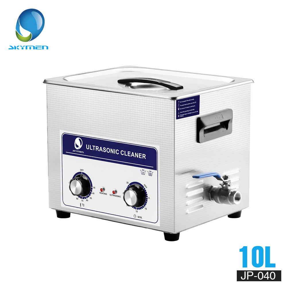 SKYMEN Ultimenrasonic Cleaner Bath 10L 240W 110 220V for engine parts Moto Auto parts ultrasonic cleaner