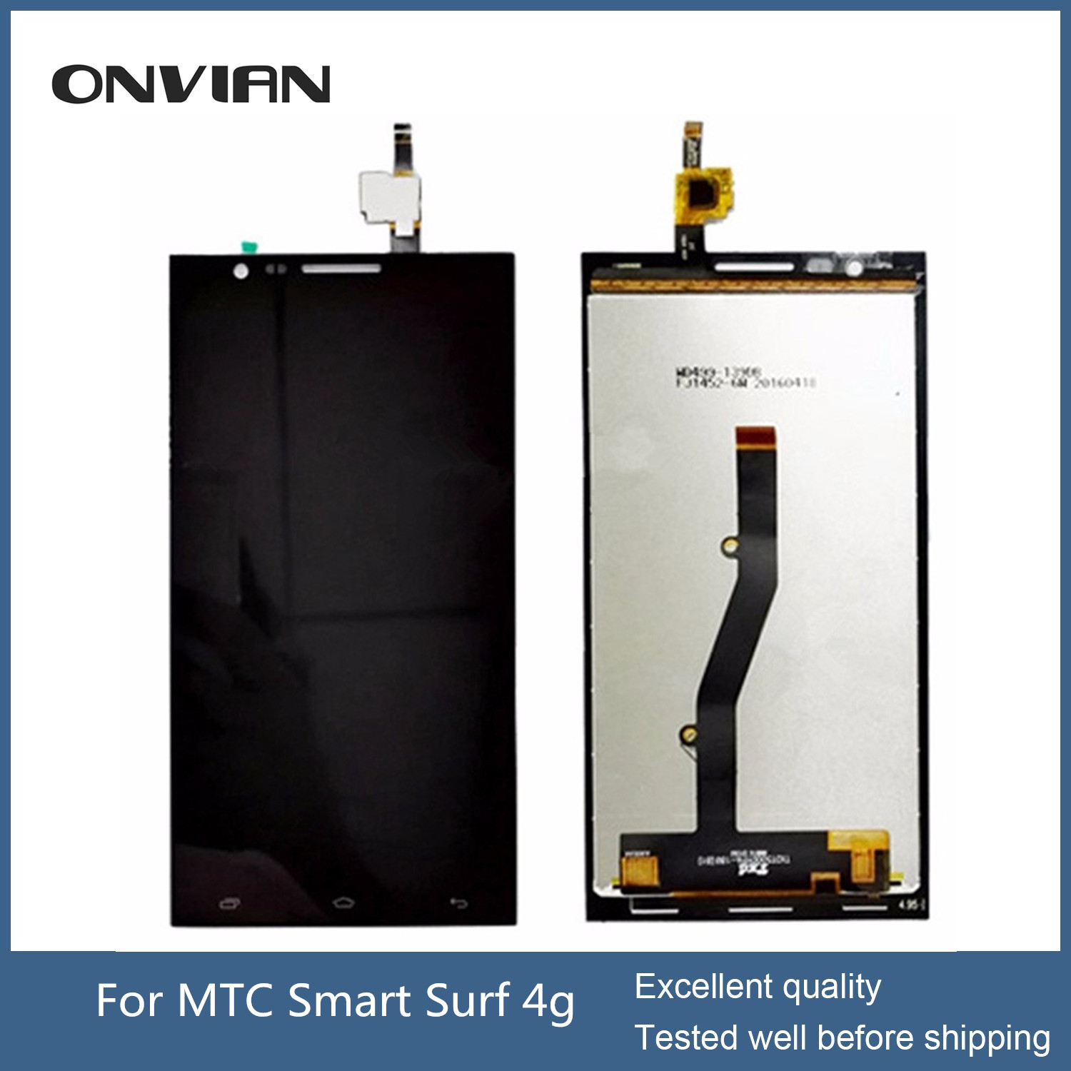 MTC Smart Surf 4g LCD Touch Display Screen Digitizer full Assembly lcd digitizer 5