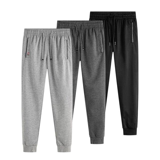 Мужские спортивные брюки, весна-осень 2019, штаны для бега, спортивные брюки для активного отдыха, тонкие обтягивающие штаны для бега, брюки дл...