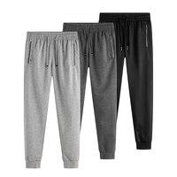 Мужские спортивные штаны 2019, весна-осень, штаны для бега, тренировочные брюки для активного отдыха, тонкие обтягивающие штаны для бега, бего...