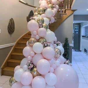 50pcs 20pcs Pink Color Macaron Balloons Arch Birthday Party 2.2g Pastel Ballons Garland Deco Birthday Baby Shower boys Girls(China)