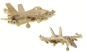 BOHS Scale Building Toys F-18 Hornet Bomber  3D Child 3D Jigsaw Handmade Model  DIY 3.8*12*9.8CM 1