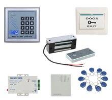 12VDC 60 kg Elektrische Magnetische Lock set voor Deur Toegangscontrole Systeem Elektromagneet Mini Maglock kit