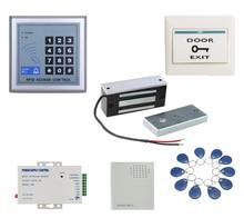 12VDC 60กิโลกรัมไฟฟ้าแม่เหล็กล็อคชุดสำหรับระบบการควบคุมการเข้าถึงประตูแม่เหล็กไฟฟ้ามินิMaglockชุด