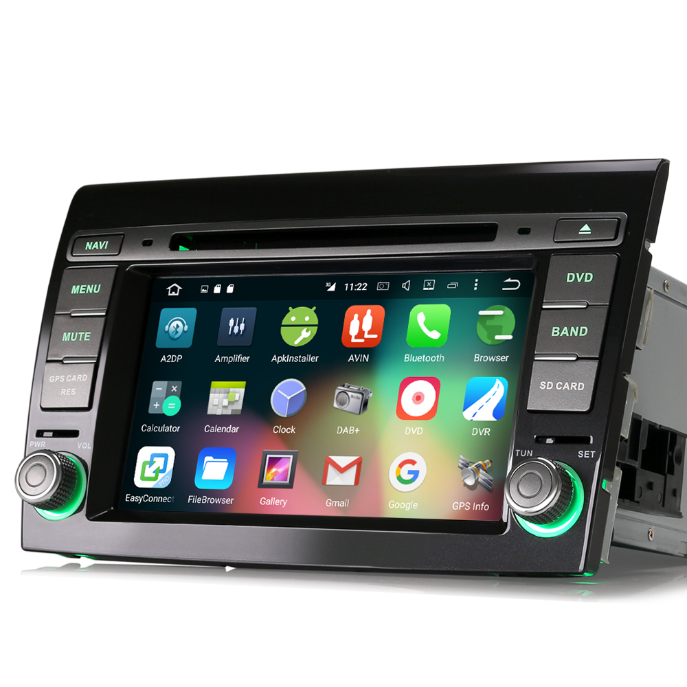 7 android 6 0 autoradio lcd dab cd usb touchscreen radio. Black Bedroom Furniture Sets. Home Design Ideas
