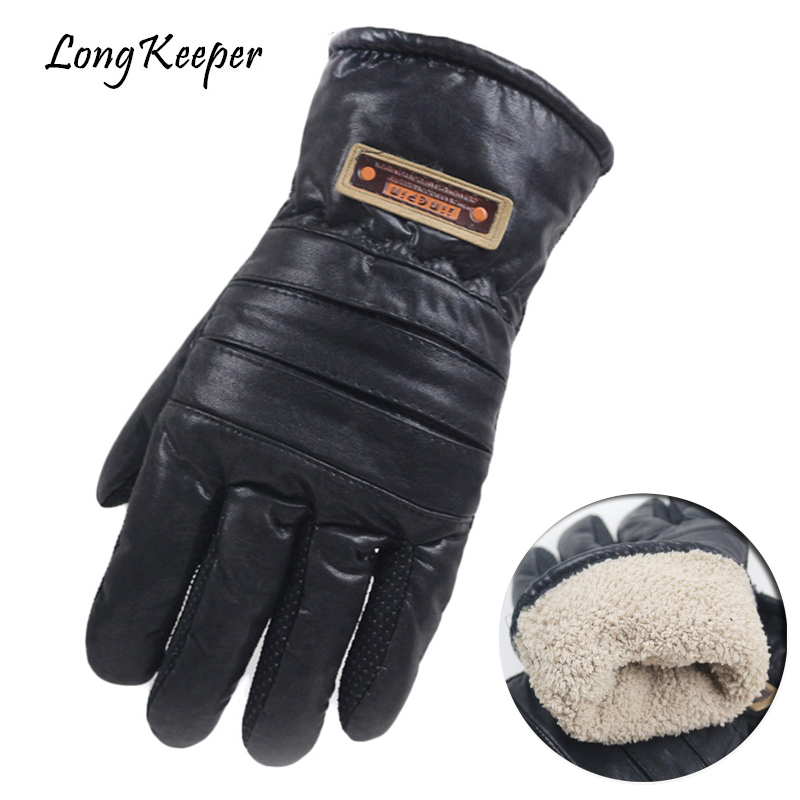 Long Keeper Luxury Fur Wool Men Leather s