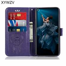 Huawei Honor 20 Pro Case Shockproof Flip Wallet Soft Silicone Phone Case Card Holder Fundas Honor 20 Pro Back Cover Honor 20 Pro honor 20 pro honor 20 flip case nillkin qin flip leather cover for huawei honor 20 pro case wallet phone case with card pocket