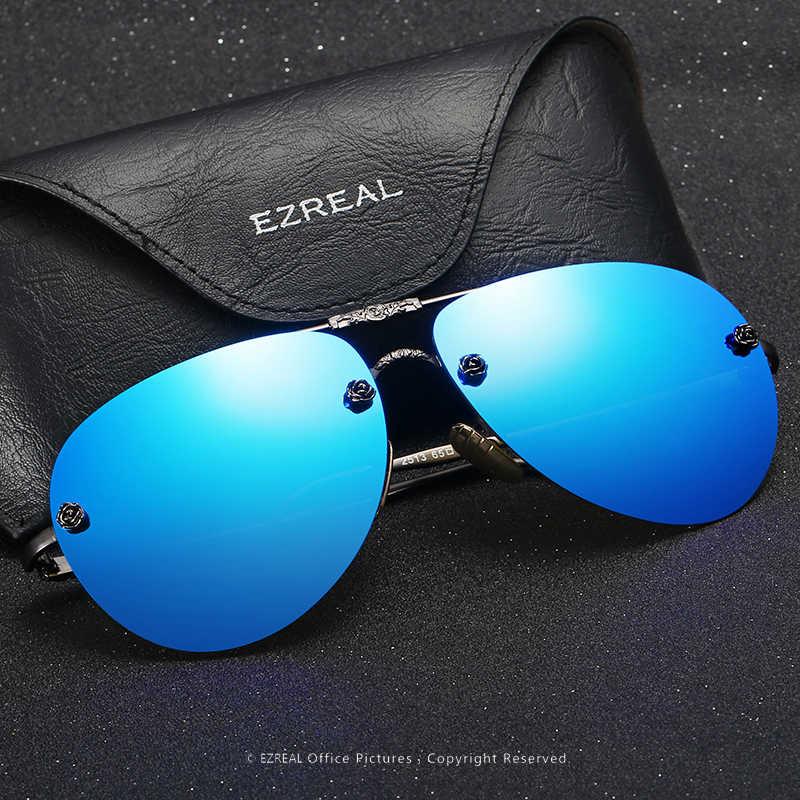 75b84bd1c94 ... EZREAL Fashion Sunglasses Women Popular Brand Design Polarized  Sunglasses Summer HD Polaroid Lens Sun Glasses With ...