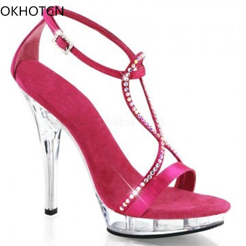 Show Chaussures Bling Peep Bande Couverture Étroites Croix As Nouveau Sandales Supérieure Été Show Talon 2018 Femmes Gladiateurs Cristal Transparent Toe Satin as 7BHgwXnx