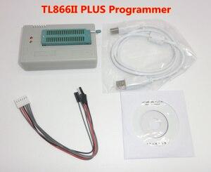 Image 2 - 100% ORIGINAL V8.3 TL866II PLUS programmeur + IC clip TSOP48 SOP28 haute vitesse AVR MCU Flash EPROM programmeur remplacer TL866A/CS