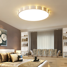 Ultra-thin LED Ceiling Lamps Iron Round White Ceiling Lights for Living Room Bedroom Indoor Lighting lamparas de techo стоимость