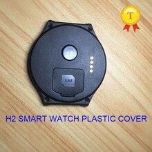 Original h2 smartwatch armbanduhr smart watch stunde uhr uhr kunststoff blackcover schwarz abdeckung fall strap gürtel für h2 phonewatch