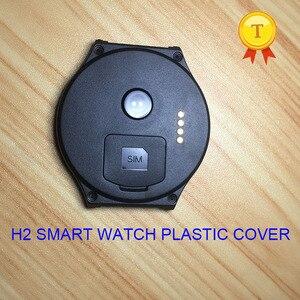 Image 1 - מקורי h2 smartwatch שעוני יד smart watch שעה שעון שעון פלסטיק blackcover שחור כיסוי מקרה רצועת חגורת עבור h2 החכם