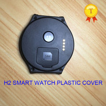 original h2 smartwatch wristwatch smart watch hour clock watch plastic blackcover black cover case strap belt for h2 phonewatch(China)