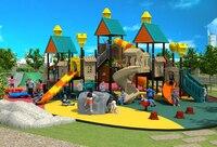 Экспортируется детей открытый игровая площадка из ПВХ Парк детская комната рай объекта вилла крыши играть оборудования YLW OUT171069