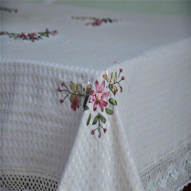 Aliexpress.com: Comprar Marfil chino hechos a mano bordado mantel ...