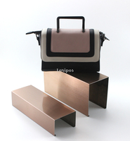 Metal High Low Shoes Display Stool Shoe Bag Counter Display Shoes Display Rack Stand Shoes Holder Stand Organizer U Table Rack