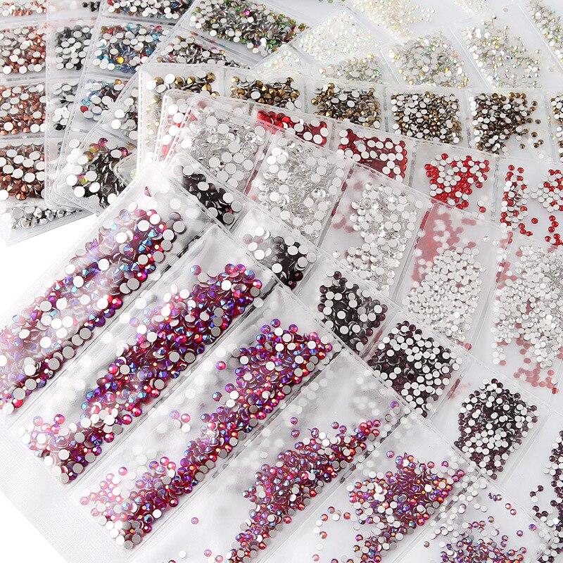 1700pcs Nail DIY Gems 30 Colors SS4 SS12 Small Sizes Glass Rhinestones For Nails 3D Nail Art Decoration Low Shipping Cost Bulk|Rhinestones & Decorations| - AliExpress