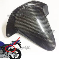 Real Carbon Fiber Rear Fender Guard Fairing For Honda CBR600RR F5 2003 2004 CBR 600RR 03 04 Motorcycle Rear Hugger