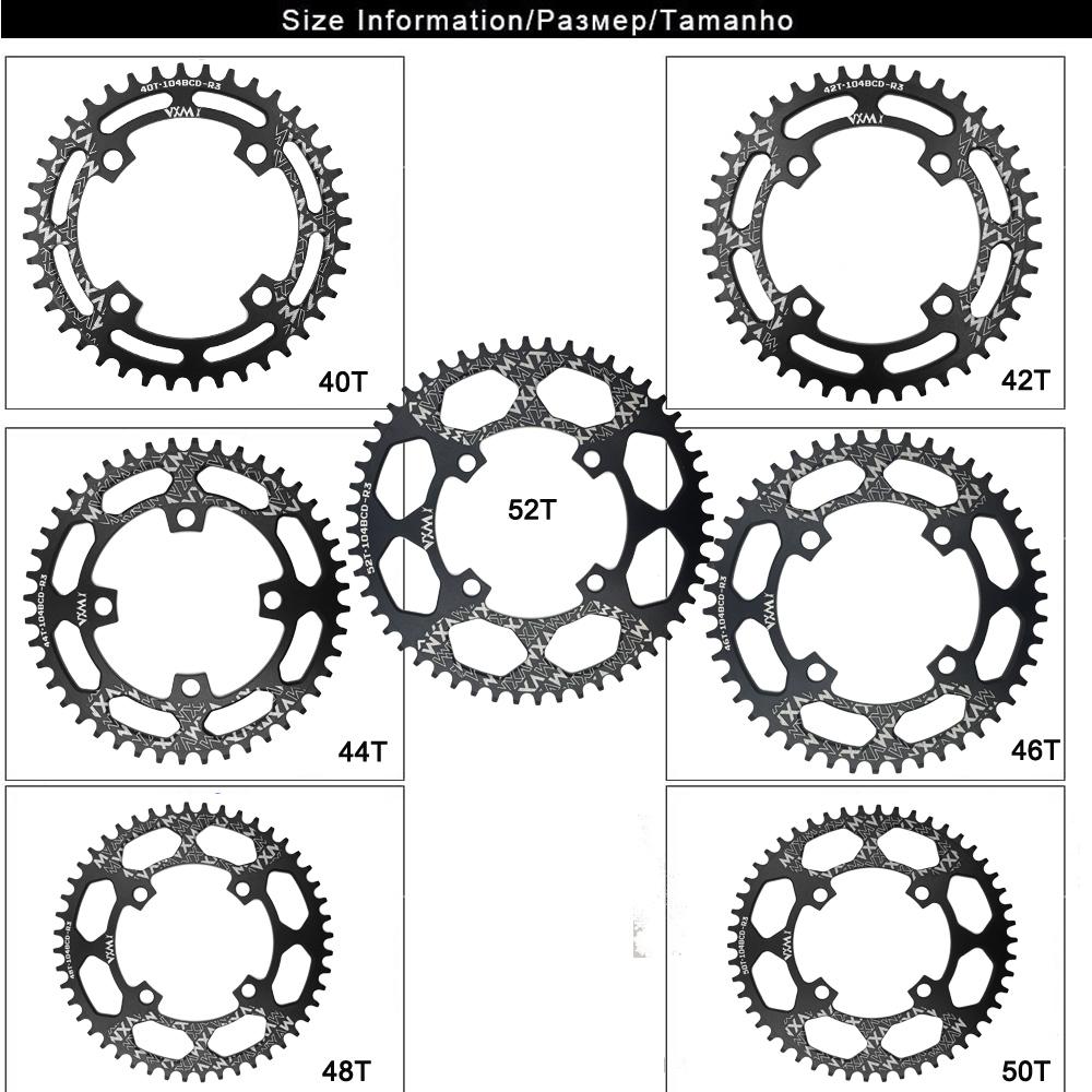 VXM-Bicycle-Crank-104BCD-40-42-44-46-48-50-52T-Mountain-Bicycle-Chainwheel-MTB-bike (1)