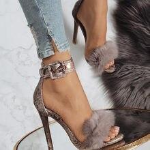 c6a0b9a8 11 cm finas Sandalias de tacón alto calzado piel correa del tobillo del  gladiador sandalias plataforma Mujer Zapatos de boda Sex.