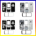 Black/White Original full housing cover case + buttons + keypad For Nokia 6120 6120C Double Camera & Single Camera for choose