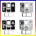 Black/White Original habitação cobertura completa case + botões + teclado para nokia 6120 6120c dupla camera & câmera única para escolher