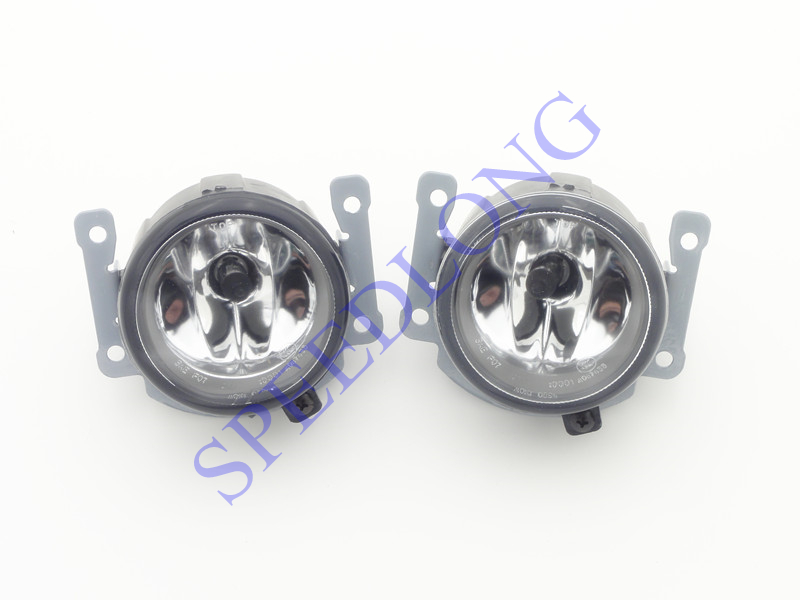 цена на 2 Pcs/Pair Front Bumper Fog Lights Driving Fog Lamps with bulbs RH and LH for Mitsubishi Outlander 2009-2011