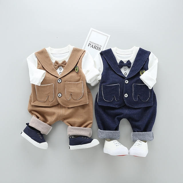 d3989e24a newborn baby boy infant toddler things half birthday outfits spain kids  clothes 3 pieces clothing set
