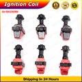 Bobinas de ignição Coil Pack Para Nissan Skyline R32 R33 RB25 RB20 S1 RB20DET RB25DET RB26 RB26DETT Série 1 Faísca Pacotes x 6 pcs
