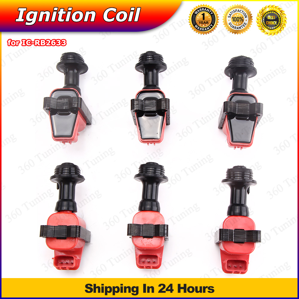 Ignition Coils Coil Pack For Nissan Skyline R32 R33 RB20 RB25 RB26 S1 RB20DET RB25DET RB26DETT