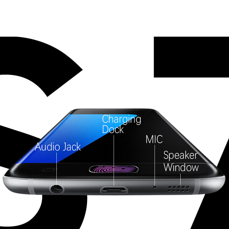 ORIGINELE Super AMOLED Display Voor SAMSUNG Galaxy S7 Rand LCD Touch Screen Digitizer Vergadering met Frame Vervanging G935F G935 - 4