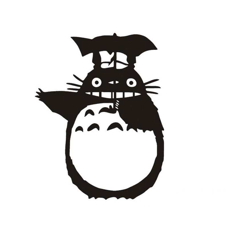 Car Wallpaper App 11 15cm Totoro Car Sticker Cartoon Character Funny Car