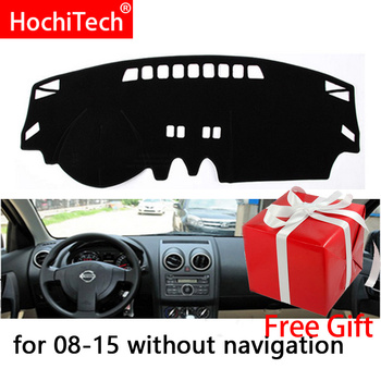 For Nissan Qashqai Rogue J10 2006-2013 Right and Left Hand Drive Car Dashboard Covers Mat Shade Cushion Pad Carpets Accessories 1