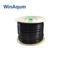 WinAqum CAT6 CAT5E 99.99% 순수 OFC 야외 직접 Bruial 솔리드 UTP 이더넷 23AWG 네트워크 이더넷