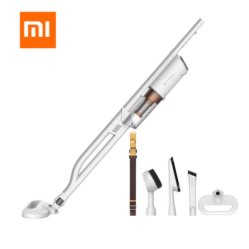 Xiaomi Mijia Deerma DX800S Double-circulation Upright Back Carrying Vacuum Cleaner Handheld Lightweight 220V 14000P Cleaner