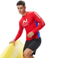 3MM Neoprene One-Piece Body Wetsuit For Men Scuba Diving Surfing Snorkeling Spearfishing