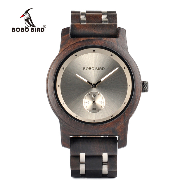 BOBO BIRD Q18 Wooden Watches for Men And Women Simplified Quartz Watch mannen ho