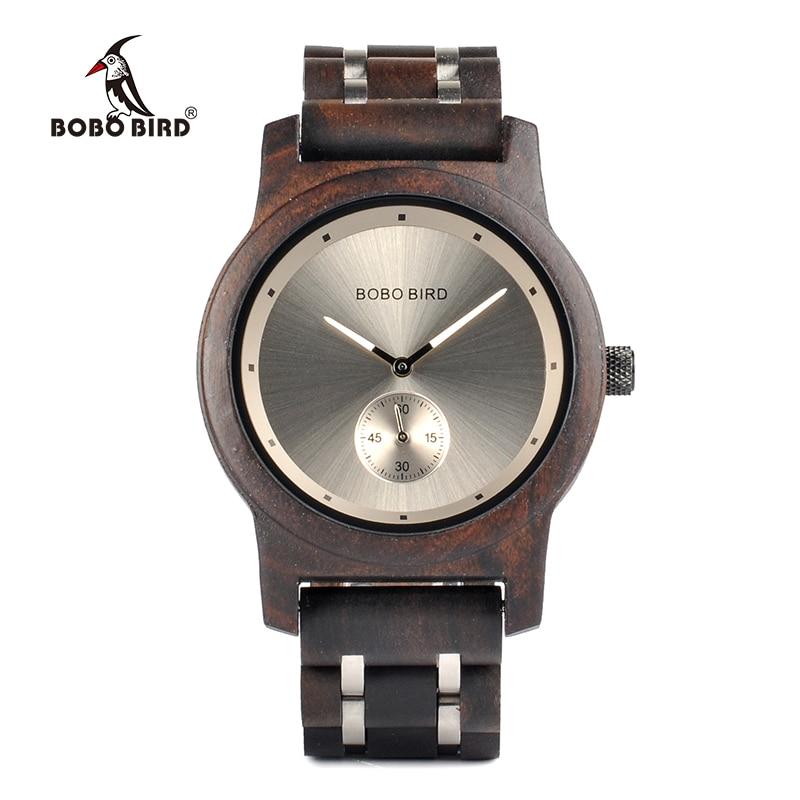 BOBO BIRD Q18 Wooden Watches For Men And Women Simplified Quartz Watch Mannen Horloges Luxe Merk