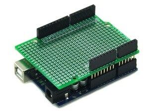 Image 5 - الشحن مجانا (10 قطعة/الوحدة) prototype pcb ل uno r3 درع مجلس diy