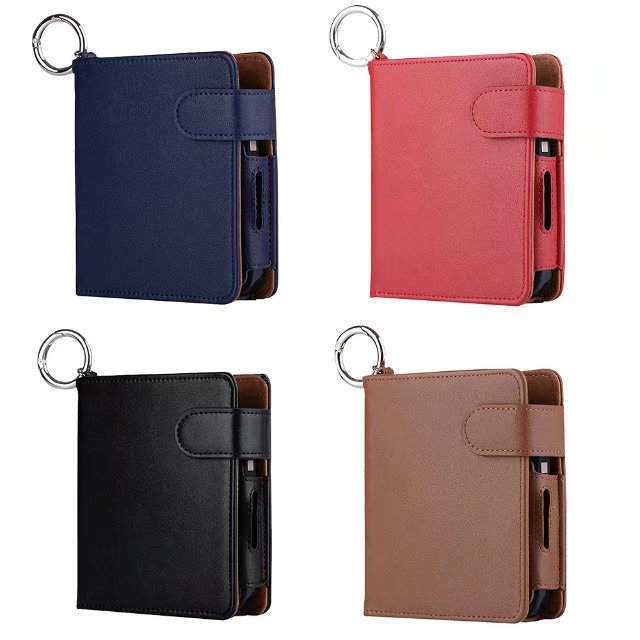 Original 331332Anti Scratch Carrying case Box Card Holder travel Pouch Bag Retro IQOS Leather Case for iQOS E cighot in Japan