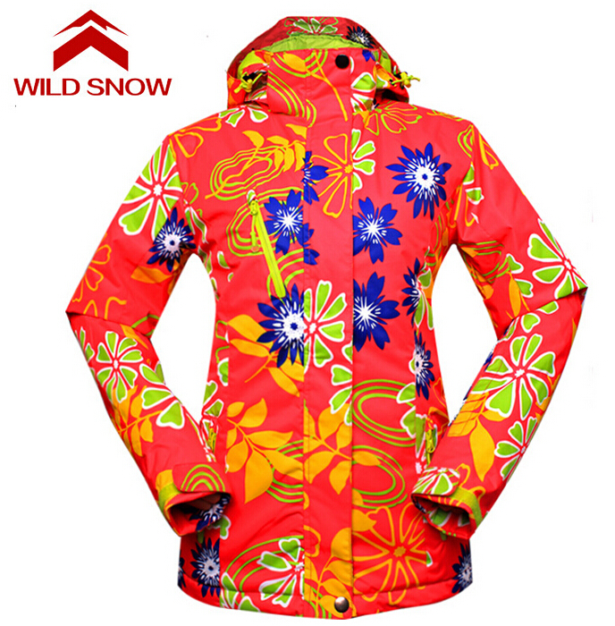 Wild Snow Women Ski Jacket Skiing Jackets Female Snowboard Coat Winter Clothing Breathable Warm Waterpoof Winter Jackets hot sale women ladies snowboard jacket waterproof breathable ski jacket female winter snow coat sport motorcycle anorak clothes
