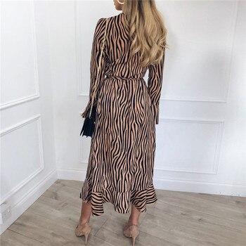 Maxi Dress Casual Long Sleeve V Neck 1