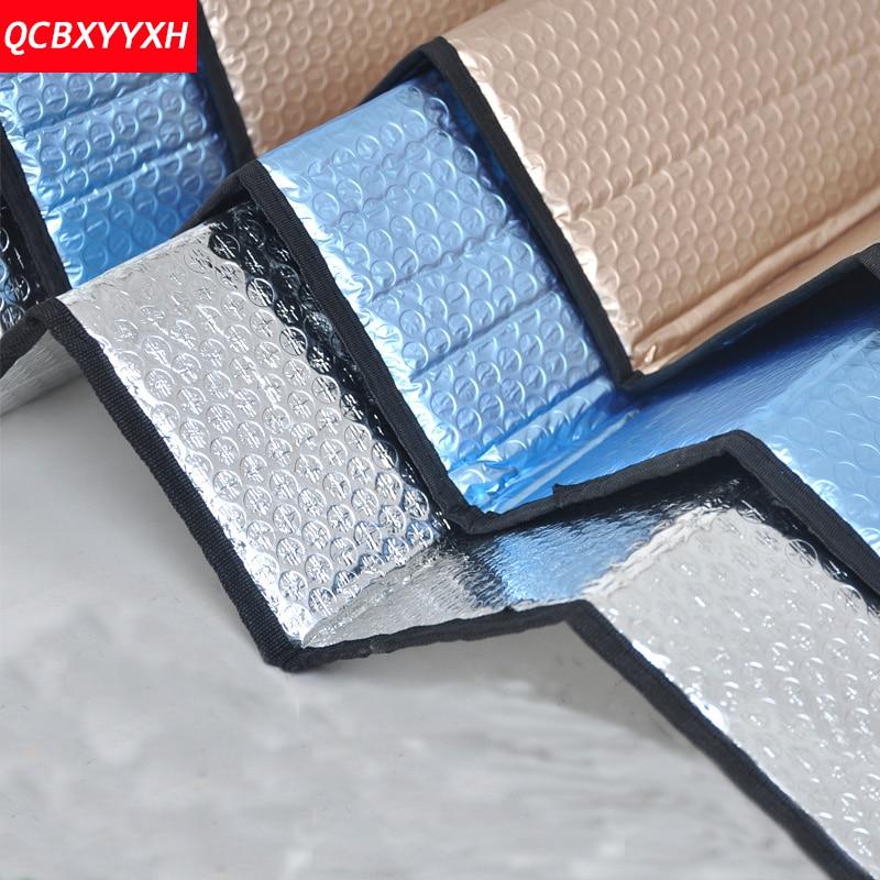 Car Windshield Sunshades Reflective Shades Car Styling Auto Windshield Sunshade Visor Dashboard Cover Block Heat Reflective