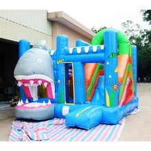 Outdoor inflatable jumping castle, inflatable bouncer and slide combos for children toy