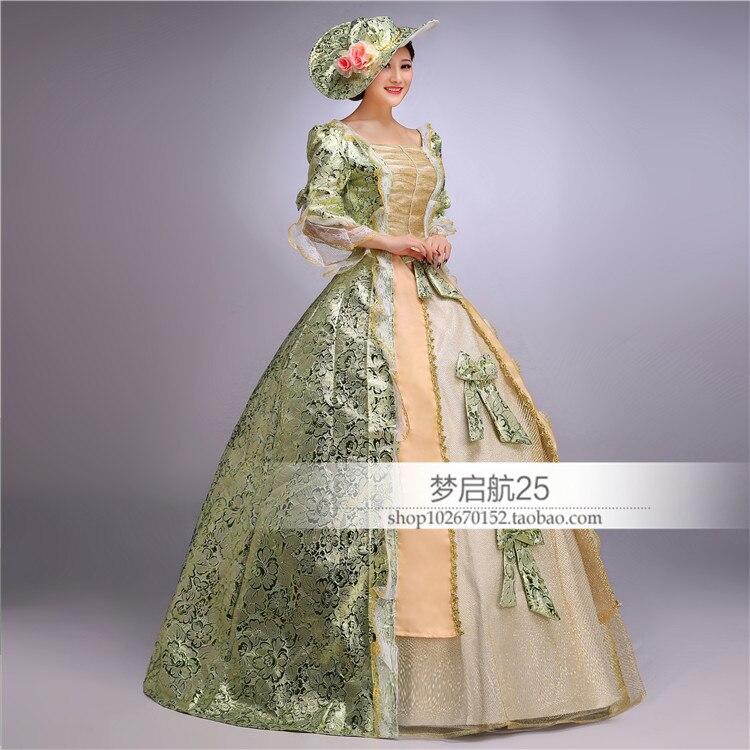 Dames européennes médiévale Renaissance période robe formelle Halloween fête robe de bal Cosplay Costume pour les femmes Lolita robes